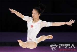中国体操女团获得冠军 实现亚运12连冠
