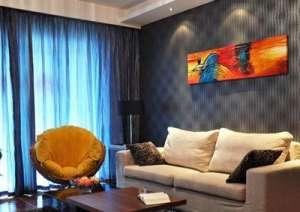上海三居室装修 大气与精致兼得资讯生活