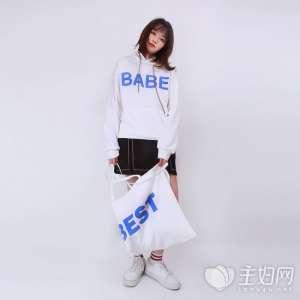 资讯【连帽卫衣女】短款卫衣既显青春又时髦